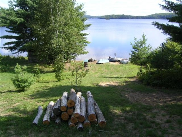Lake Forant view from cottage #8